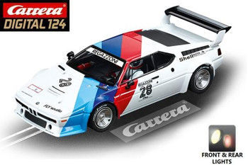 Carrera DIGITAL 124 BMW M1 Procar Regazzoni 1/24 slot car 20023820