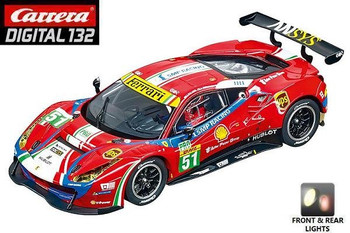 Carrera DIGITAL 132 Ferrari 488 GT3 AF Corse  1/32 slot car 20030848