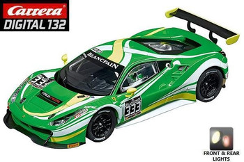Carrera DIGITAL 132 Ferrari 488 GT3 Rinaldi Racing 1/32 slot car 20030847