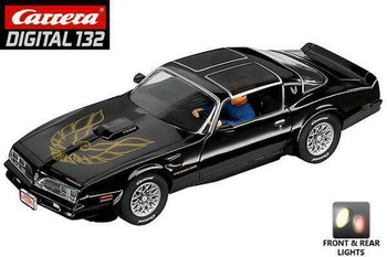 The DIGITAL 132 Pontiac Firebird Trans Am was birthed from a joint venture between Chevrolet and Pontiac. Carrera got it right with every last detail on this 1:32 slot car version.