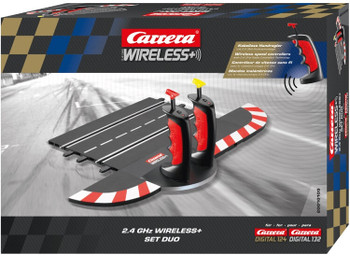 Carrera Digital 124/132 2.4 GHz wireless+ set DUO packaging 20010109