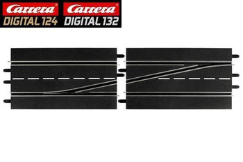 Carrera DIGITAL 124/132 LEFT lane change track 20030343