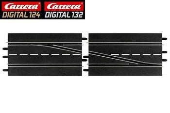 Carrera DIGITAL 132 RIGHT lane change track 30345