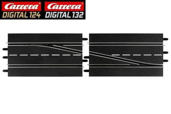 Carrera DIGITAL 124/132 RIGHT lane change track 20030345