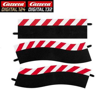 Carrera DIGITAL pit lane shoulders 20602