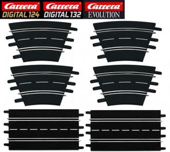 Carrera DIGITAL 124 / DIGITAL 132 / Evolution track extension set