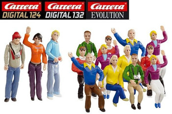 Carrera fans figure set 20021128