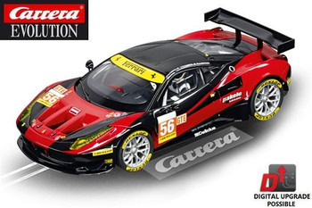 Carrera Evolution Ferrari 458 Italia GT2 AT Racing 1/32 slot car