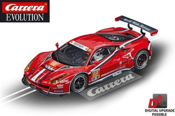 Carrera Evolution Ferrari 488 GT3 Scuderia Corsa 1/32 slot car 20027558