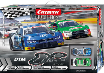 Carrera Evolution DTM Ready to Roar race set box 20025237