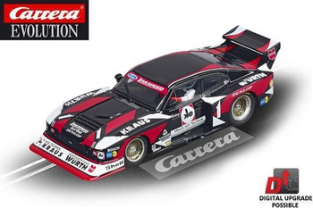 Carrera Evolution Ford Capri Zakspeed Turbo 1/32 slot car