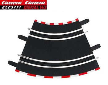 Carrera GO 1/45° curves 61611
