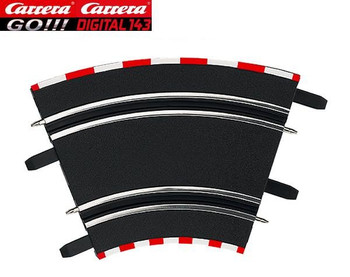 Carrera GO 1/45° high banked curves  61612