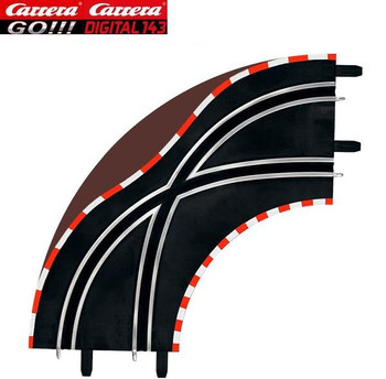Carrera GO 1/90 degree lane change curve 61655