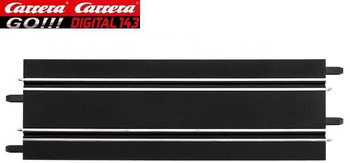 Carrera GO 342 mm straight track 61602