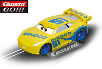 Carrera GO Cars 3 Dinoco Cruz 1/43 slot car