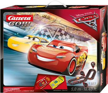 Carrera GO Cars 3 Fast Friends 1/43 race set box