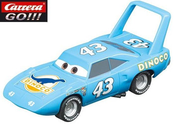 Carrera GO Cars Strip The King Weathers 1/43 slot car 20064107