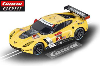 Carrera GO Chevrolet Corvette C7R 1/43 slot car 20064032