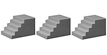 Pikestuff HO scale concrete steps 541-1010