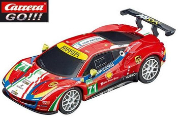 Carrera GO Ferrari 488 GTE 1/43 slot car 20064114
