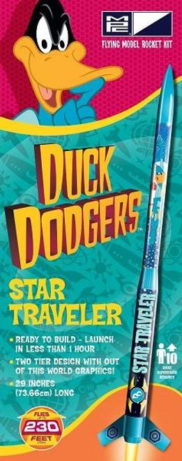 MPC Duck Dodgers Star Traveler flying model rocket kit