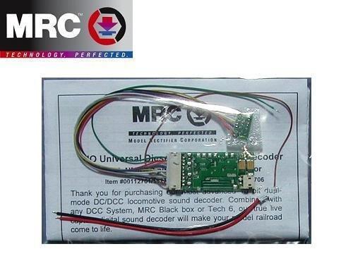 MRC 112701 DCC Decoder