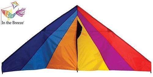 Rainbow 6 ft Delta Kite