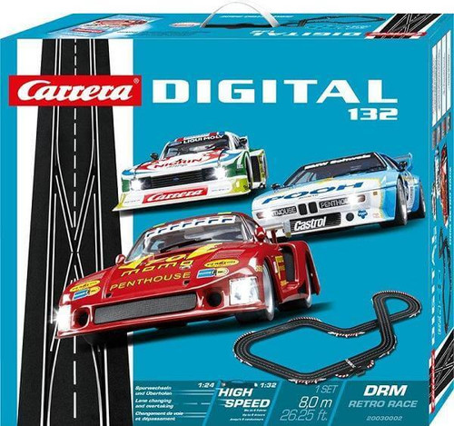 Carrera DIGITAL 132 DRM Retro Race set box