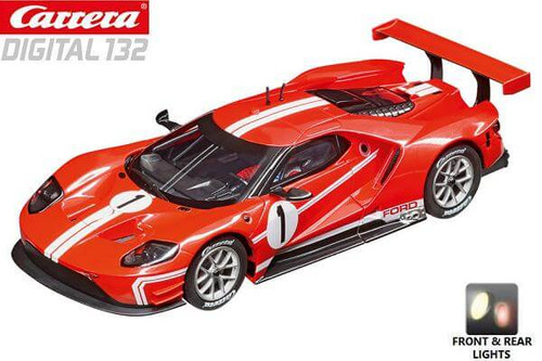 Carrera DIGITAL 132 Ford GT Race Car Time Twist 1/32 slot car