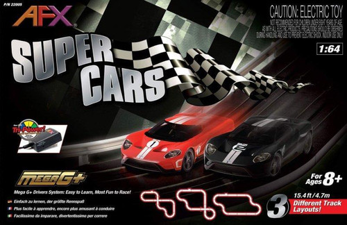 AFX Super Cars race set box