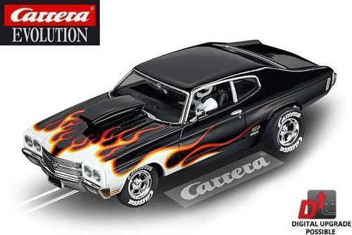 Carrera Evolution Chevrolet Chevelle SS 454 1/32 slot car