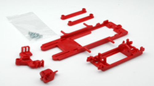 Hobby Slot Racing EVO 1/32 Chassis Kit - Red