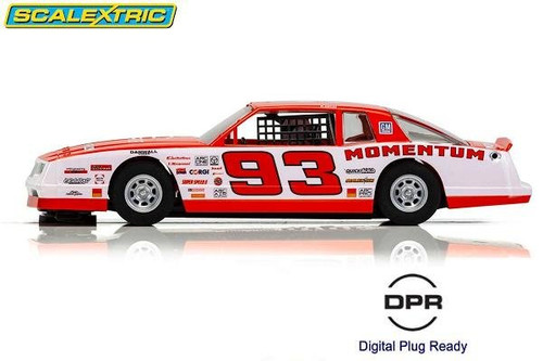 Scalextric Chevrolet Monte Carlo Momentum 1:32 slot car side view