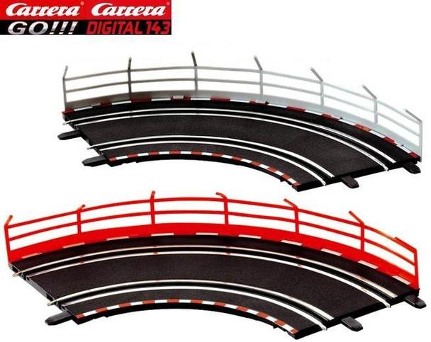 Carrera GO guardrail fences 20061651