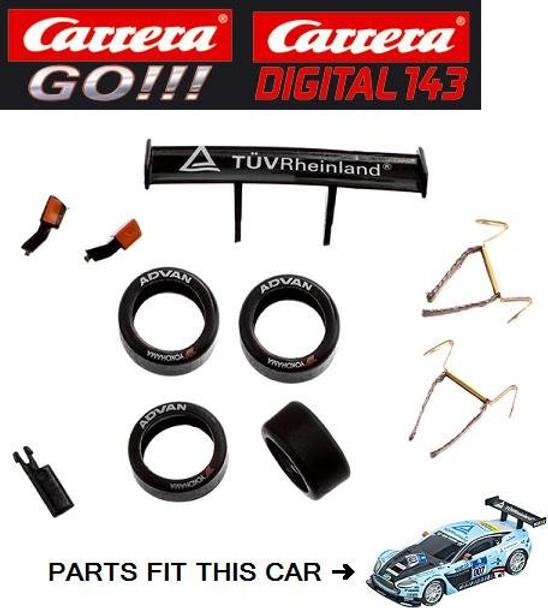 Carrera GO/DIGITAL 143 Aston Martin V12 Vantage GT3 Young Driver Accessories
