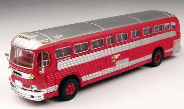 Classic Metal Works GMC PD 4103 Pacific Electric Railway Bus - San Bernadino