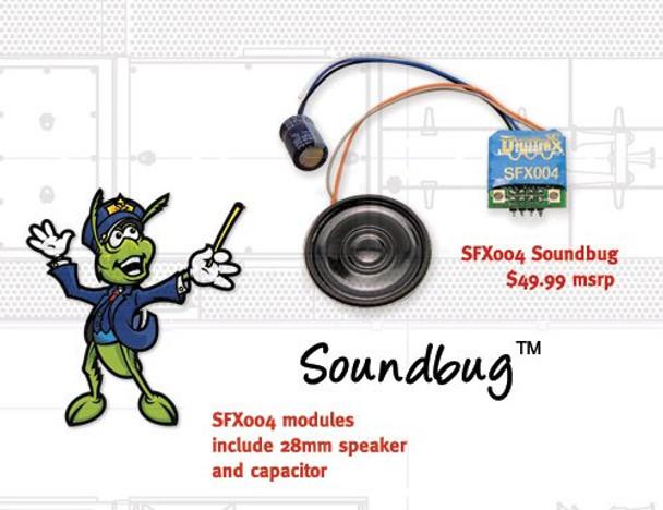 Digitrax SFX04 HO Soundbug Decoder