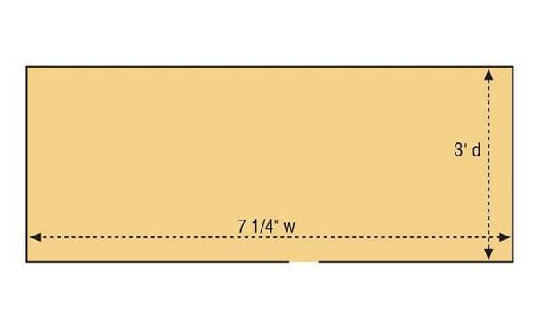 DPM Cutting's Scissor Co HO scale building kit footprint