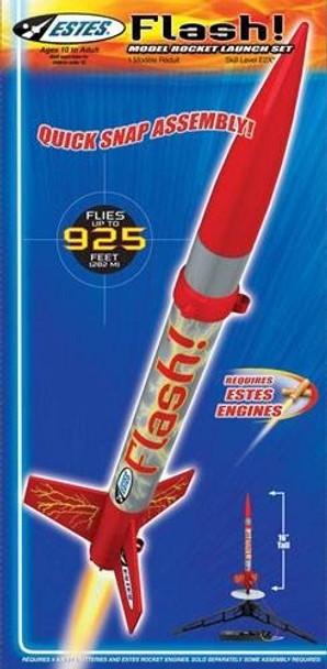Estes Flash Rocket Launch Set