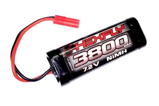 HEXFLY 7.2V 3800 NiMH Battery