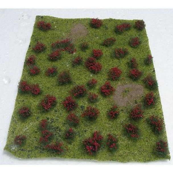 JTT Flowering Meadow HO Scale Red 95604