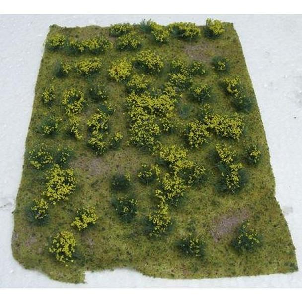 JTT Flowering Meadow HO Scale Yellow 95605
