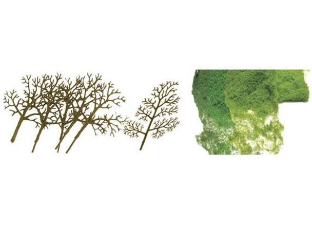 JTT Premium 3 to 4 Deciduous Tree Kit (16) 92018