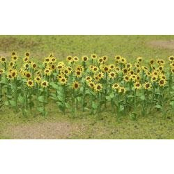 JTT Sunflowers HO Scale 95523
