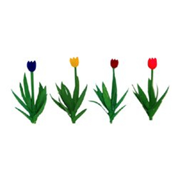 JTT Tulips HO Scale 95513