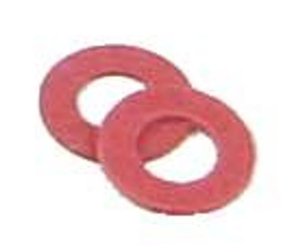 Kadee HO #208 Red Insulating Fiber Washers (48)