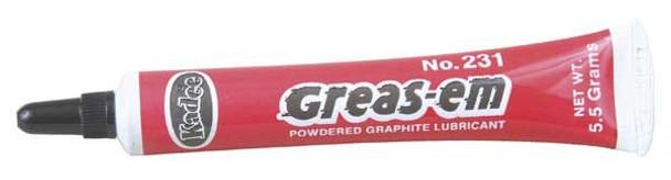 Kadee HO #231 ''Greas-em'' Dry Graphite Lubricant