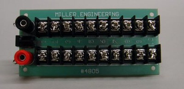 Miller Engineering power distribution board 4805