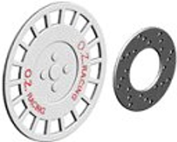 Ninco 80729 ProRace 15 OZ Racing Hubcaps & Brake Discs (4)